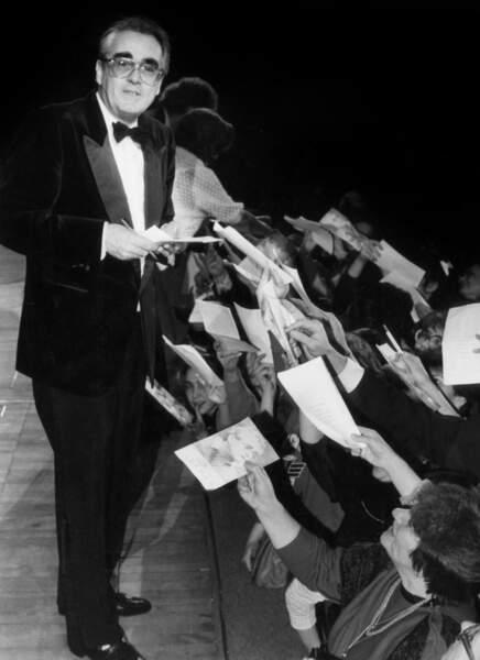 En tournée en Union soviétique, Michel Legrand a fait salle comble à Leningrad en décembre 1986