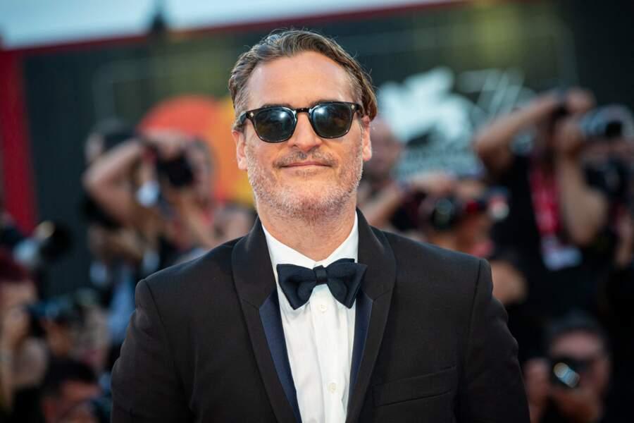 Joaquin Phoenix sur le red carpet