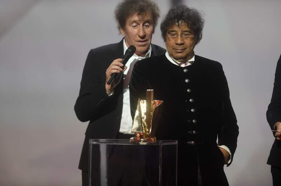 Alain Souchon et Laurent Voulzy ont reçu le prix de l'Album de chansons de l'année