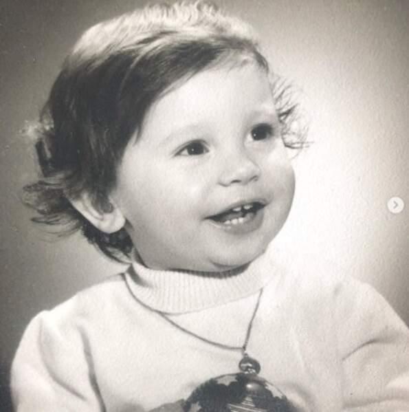 Qui est cette adorable bébé ? C'est le rappeur Kool Shen.