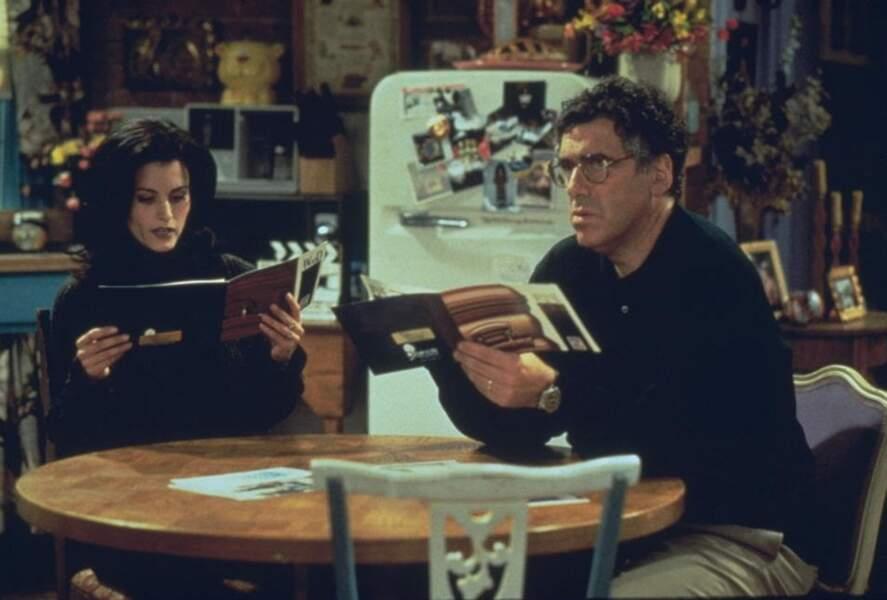 Elliott Gould jouait Jack, le père étourdi et fantasque de Ross et Monica.