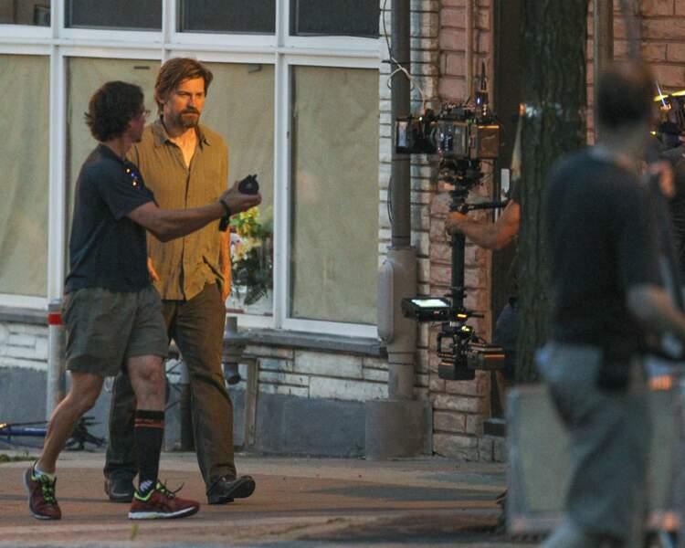 Nikolaj Coster-Waldau a été aperçu à Montreal sur le tournage du film Small Crimes