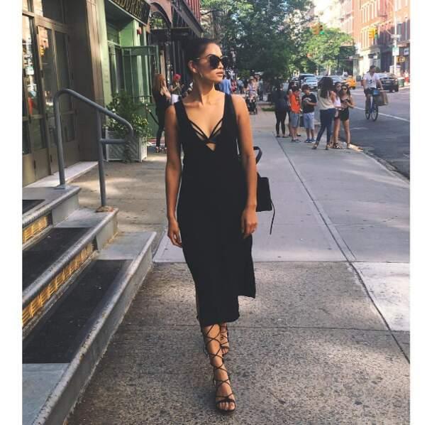 Sublimes en noir : Shanina Shaik et...