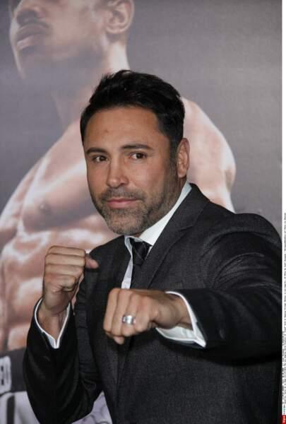… ou encore Oscar de La Hoya, prêt à en découdre