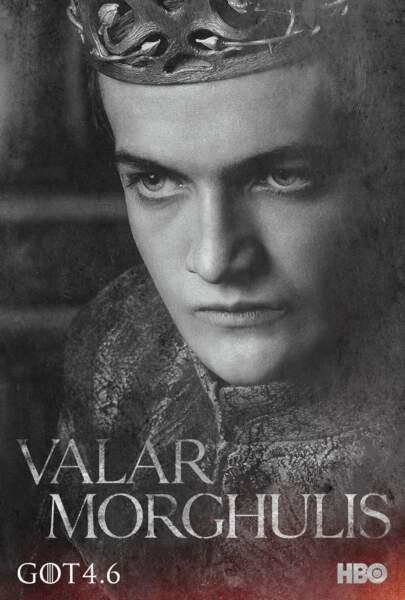 Jack Gleeson, alias Joffrey Baratheon, prince héritier devenu roi des sept couronnes