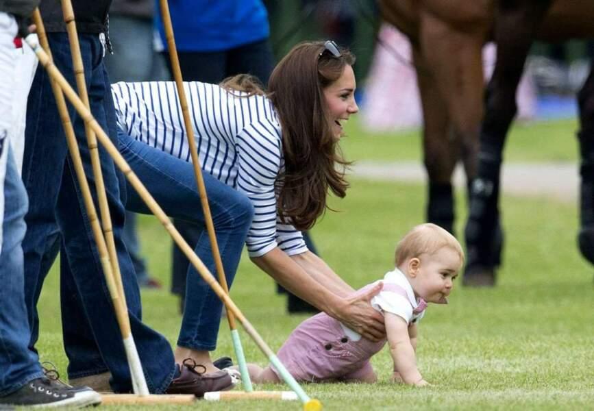 Heureusement que Kate veille au grain...