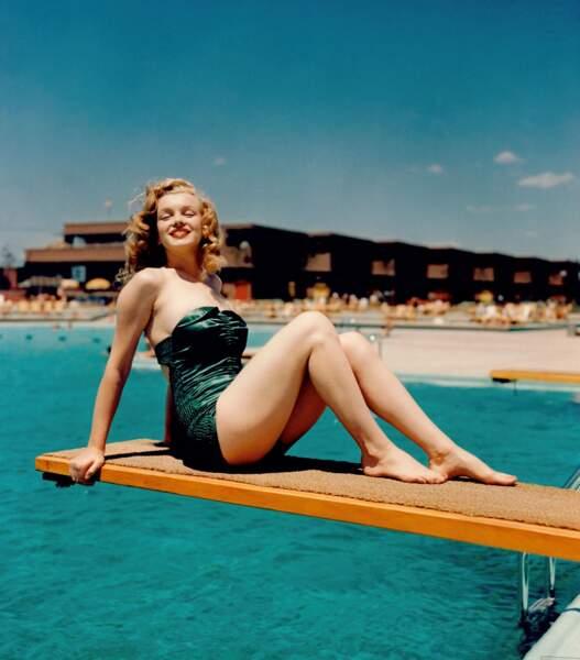 Marilyn, divine en rousse (aussi)