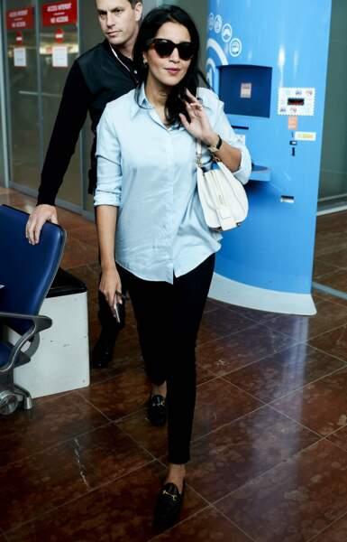 Hey, mais voilà Leila Bekhti ! Au rendez-vous pour la marque L'Oréal