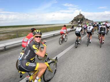 Mark Cavendish et sa fille, un Père Noël et des Vikings... L'insolite du Tour de France