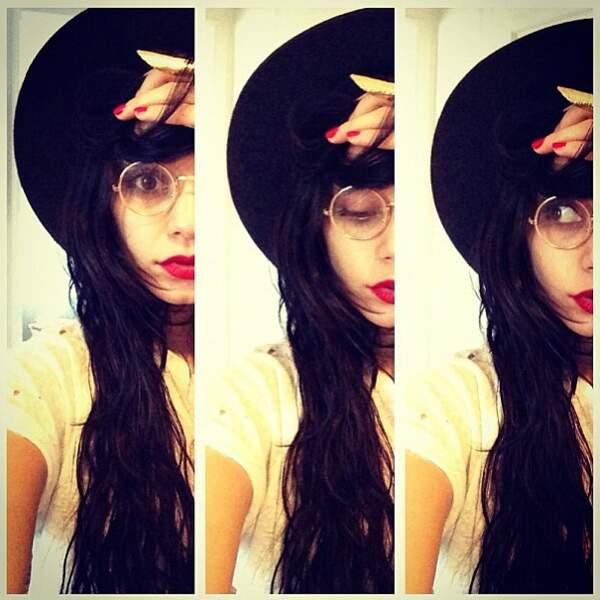 22 décembre 2012 : Vanessa poste sa première photo Instagram ! Welcome !