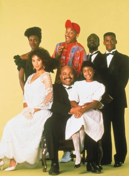 La famille Banks dans la série Le Prince de Bel Air