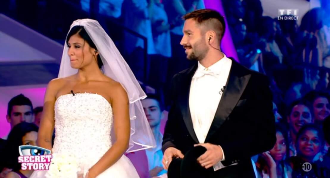 Et voici les faux mariés de Secret Story sur le plateau !