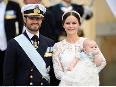 Le petit Alexander de Suède vient d'être baptisé