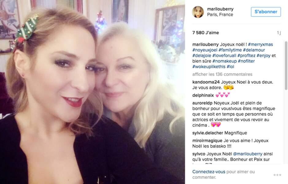Un beau moment mère-fille pour Marilou Berry et Josiane Balasko