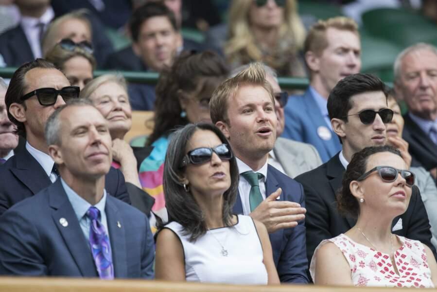 Le jeune retraité de la F1 Nico Rosberg a passé du bon temps à Londres