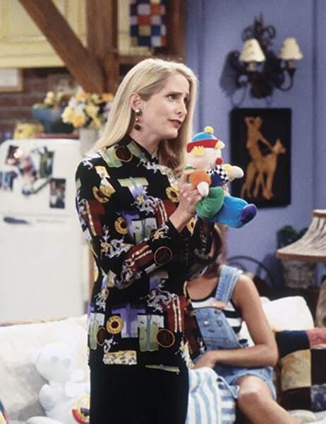 Jane Sibbett jouait Carol, la première femme de Ross qui était en réalité lesbienne.