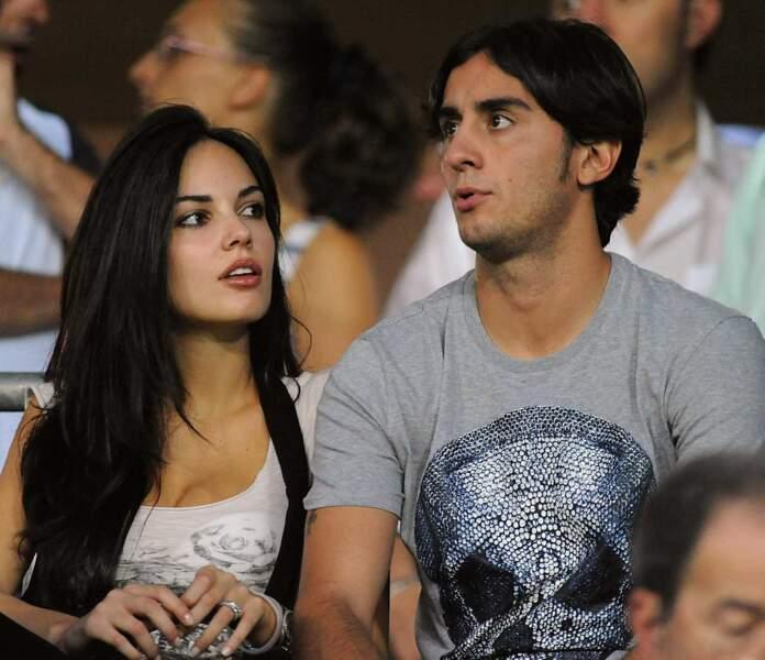 Elle est en couple avec le milieu de terrain de la Fiorentina, Alberto Aquilani