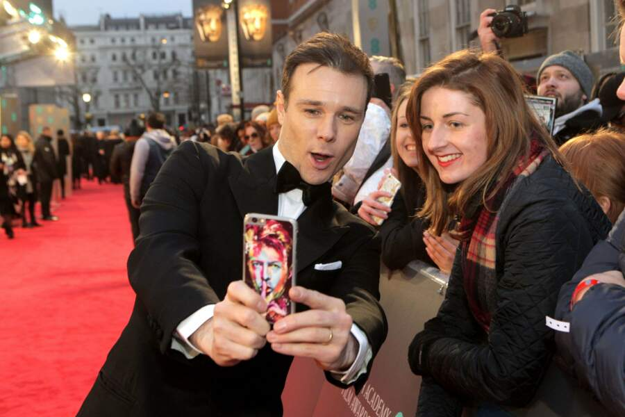 La cérémonie des BAFTA s'est déroulée dimanche soir à Londres avec Rupert Evans
