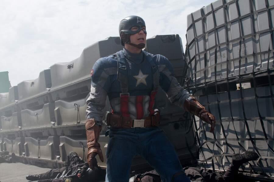 Captain America, couleur patriote !
