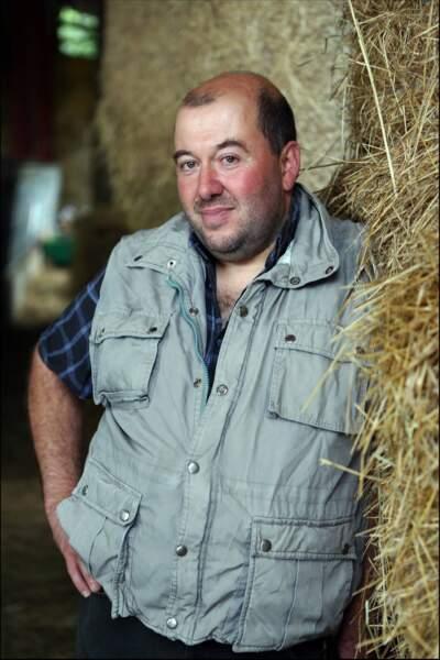 Didier, 41 ans, éleveur de vaches allaitantes et de chèvres.