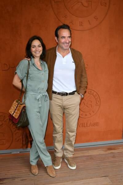 Jean Dujardin et Nathalie Péchalat étaient là également
