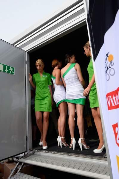 Vous êtes prêt ? On va découvrir toutes les hôtesses de ce Tour de France 2013...