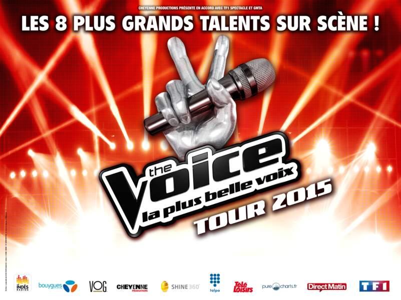 La tournée The Voice commencera le 29 mai à Amiens