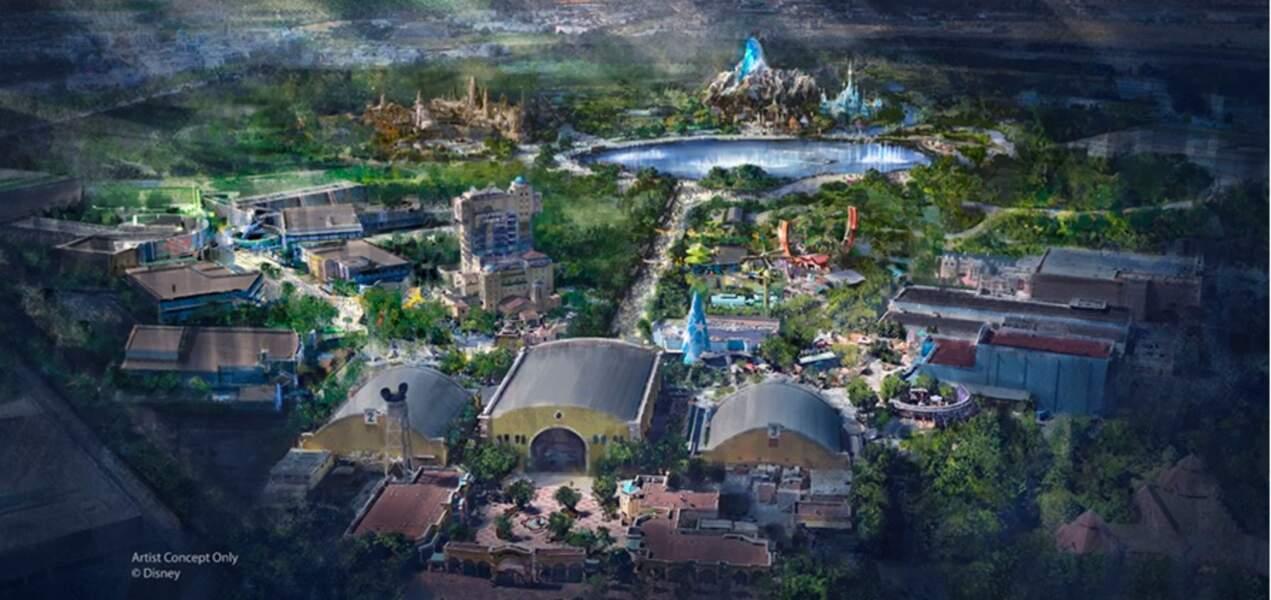 Voici le nouveau parc Walt Disney Studios