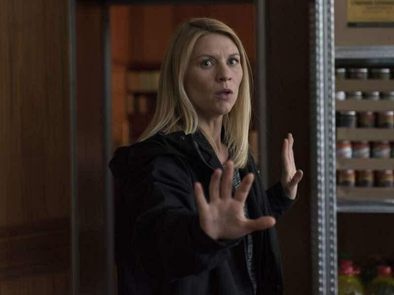 """Dans quel état retrouvera t-on Carrie (Claire Danes) après 8 ans de pérégrinations: """"Homeland"""" (C+, saison 8)."""