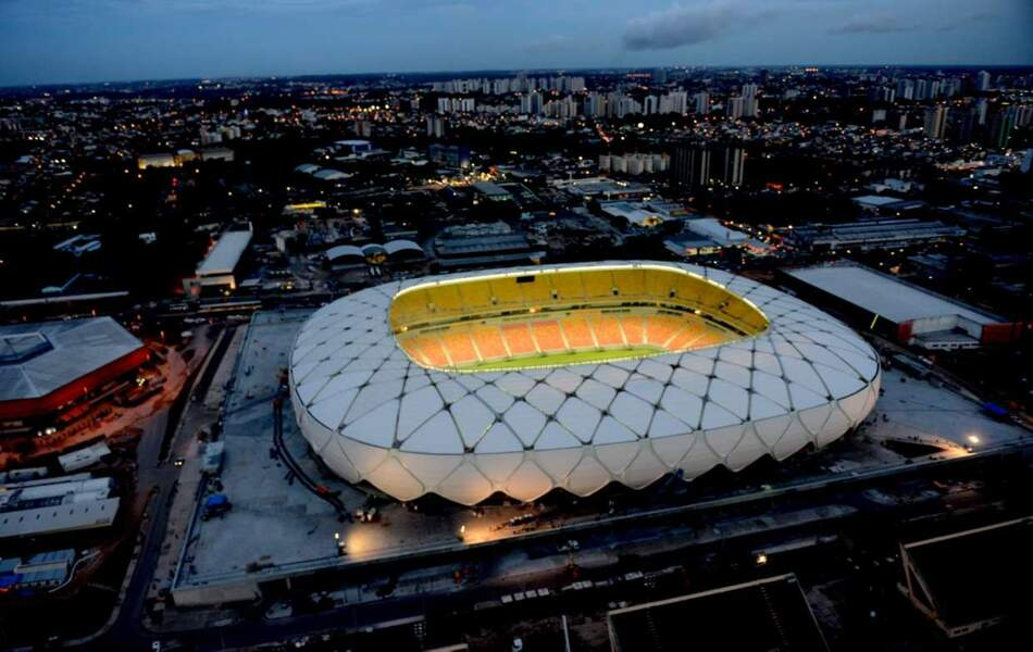 Arena Amazônia (Manaus) 42 374 places