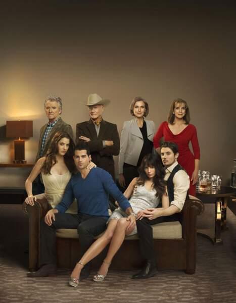 En 2012, Patrick Duffy, Larry Hagman et Linda Gray ont rempilé dans la nouvelle version de Dallas