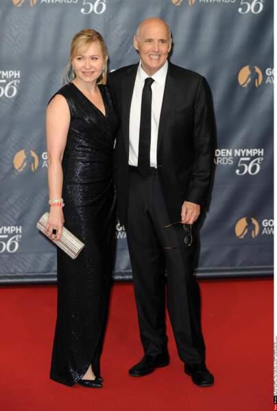 Jeffrey Tambor et son épouse