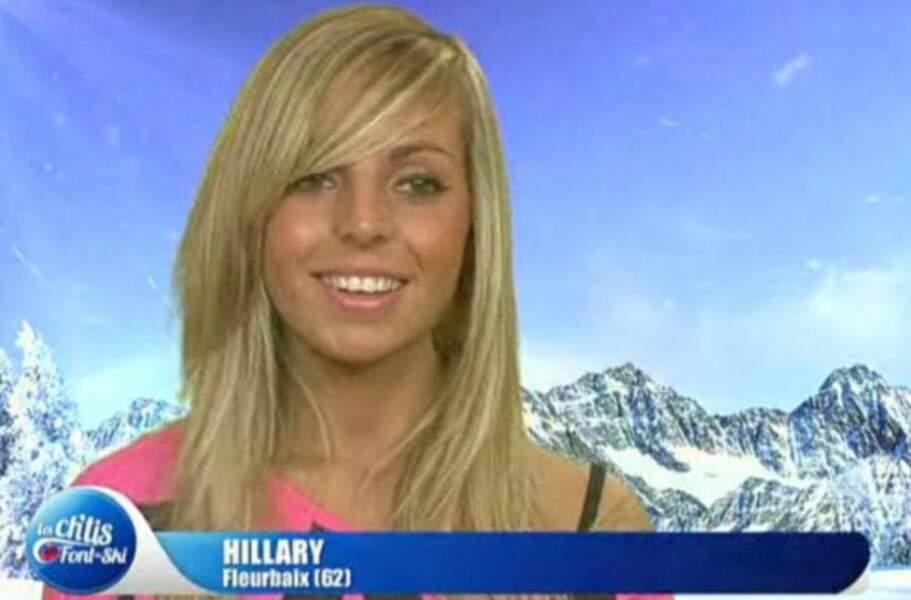 Hillary a débuté dans les Ch'tis font du ski sur W9
