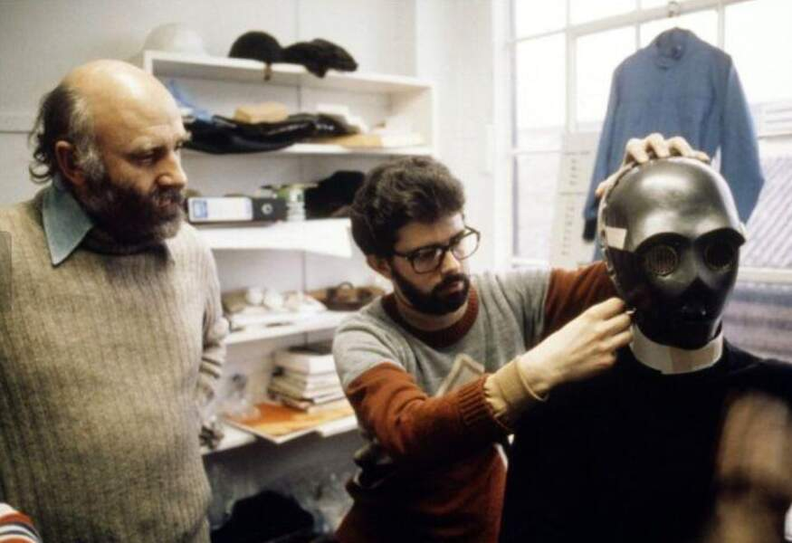 George Lucas en plein travail
