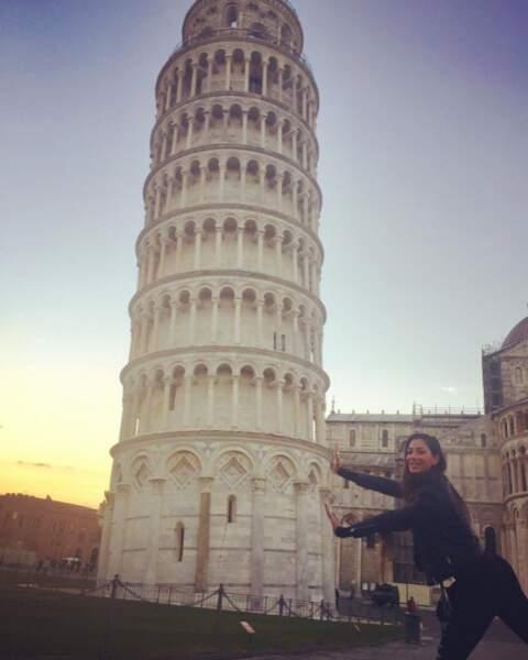 Quoi de neuf sur Instagram ? Nicole Scherzinger était trop heureuse de faire la touriste en Italie.