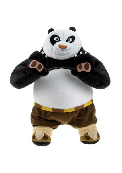 Pour les petits, pensez à la peluche Kung Fu Panda
