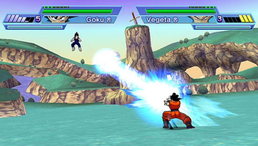 Dragon Ball Z : Shin Budokai (2006 - PSP)