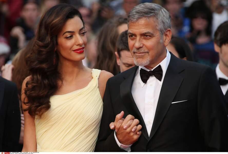 Vous ne seriez pas un peu amoureuse, madame Clooney ?