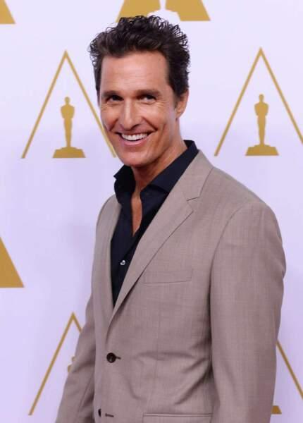 """Matthew McConaughey : Avec """"Dallas Buyers Club"""" et """"True Detective"""", l'ex-playboy est enfin pris au sérieux."""