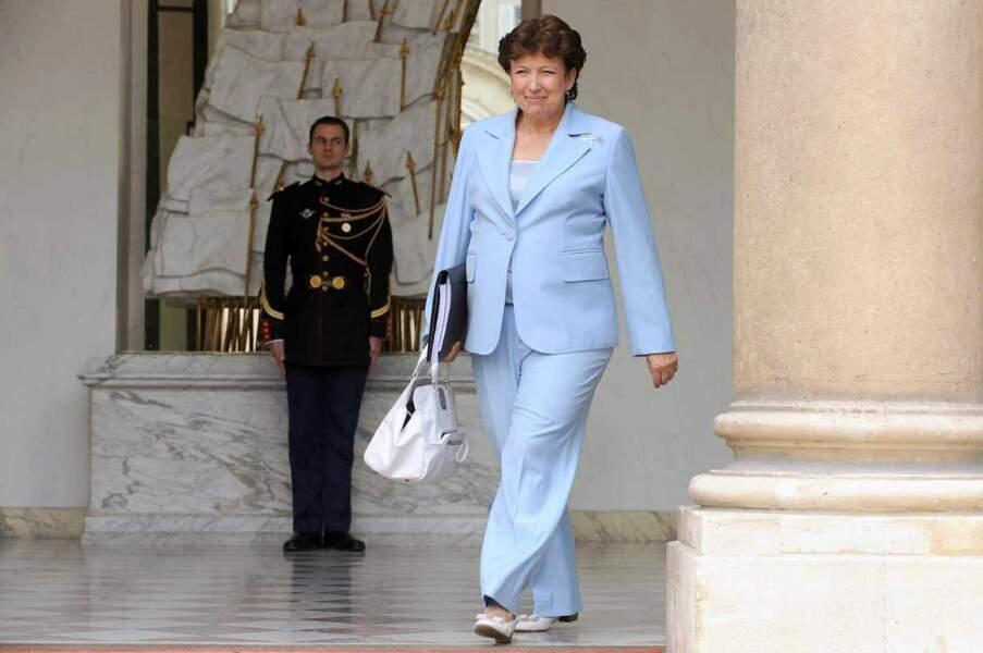 Voici l'ancienne ministre Roselyne Bachelot en 2011...