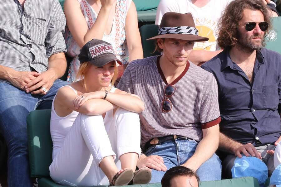 Comme Mélanie Thierry et Raphaël, nombre de célébrités étaient à Roland-Garros ce vendredi 8 juin 2018