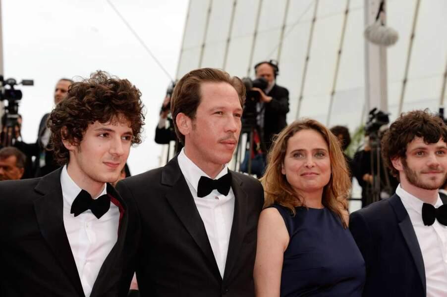 Vincent Lacoste (Les beaux gosses), Reda Kateb, Carole Frank et Félix Moati.