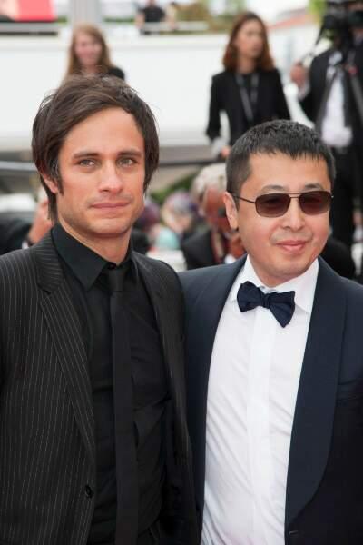 Gael Garcia Bernal et le chinois Zhangke Jia