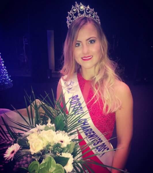 Ophélie Forgit (19 ans) élue Miss Poitou-Charentes