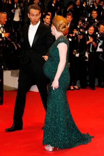 Mireille Enos et Ryan Reynolds
