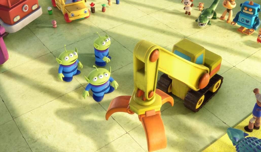 Les aliens de Toy Story : Certes ils sont verts et ont trois yeux, et pourtant, ils sont trop rigolos !