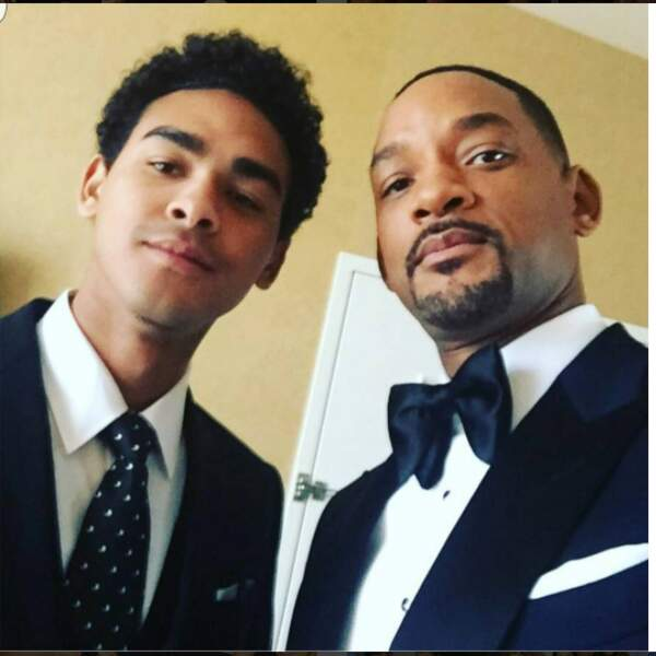 Quant au grand frère, Trey, le fils que Will Smith a eu avec l'actrice Sheree Zampino...