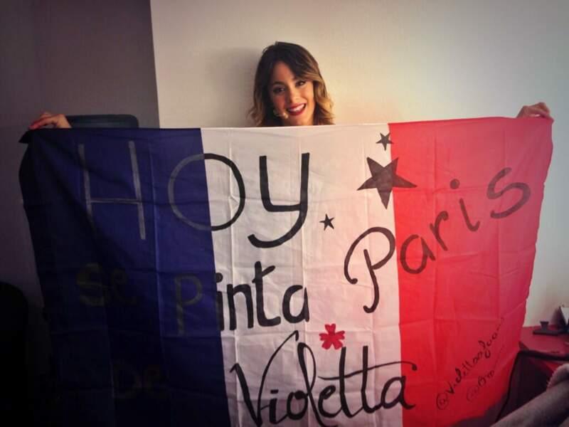 Pas de doute, Violetta est à Paris