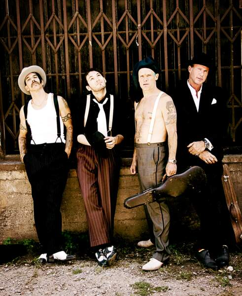 53. Red Hot Chili Peppers (chanteurs)