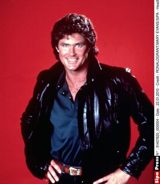 De 1982 à 1986, David Hasselhoff a été le héros de la série K2000